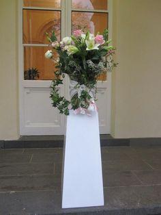 http://www.FLORICA.eu -  Aussendekoration für Hochzeit