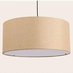 Pendant Lights,Country,3Light, Fabric,Circular,The Bar Chandelier - USD $ 89.99