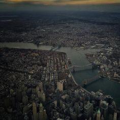 Tonight New York City and the bridges that link the boroughs. iPhone phone by David Guttenfelder @dguttenfelder by thephotosociety #IFTTT #Instagram #SmartMobileGear