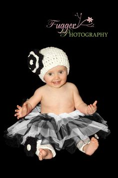 Crochet outfit with tutu