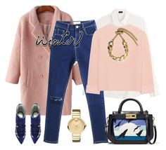"""outfit 5507"" by natalyag ❤ liked on Polyvore featuring Joseph, iHeart, Rayne, Gianfranco Lotti and Movado"