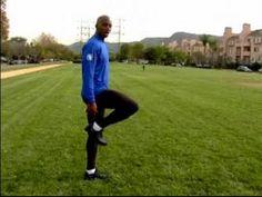 Track & Field Drills : The 'Butt Kick' Track & Field Drill