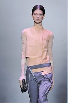 completely deconstructed, barely functioning, fashion as art, body as canvas - Balenciaga