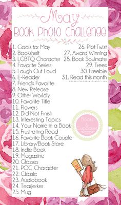Books & Cupcakes — Book Photo Challenge hosted by : Books & Cupcakes...