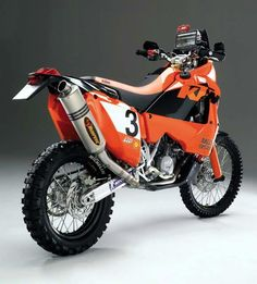 KTM 950 Rally Dakar ...!