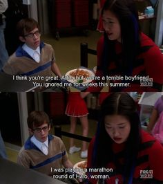 Hahaha! This is my favorite Glee moment. :)