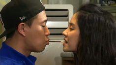Gary & Song Ji Hyo (Cast of TVshow 'Running Man'