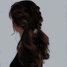 Pretty Hairstyles, Easy Hairstyles, Hair Inspo, Hair Inspiration, Aesthetic Hair, Dream Hair, Hair Dos, New Hair, Curly Hair Styles