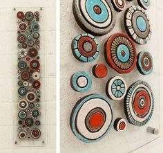 "Idea - glass or clay Saatchi Art Artist: tori seyd; Ceramic 2011 Sculpture ""navajo circles"""