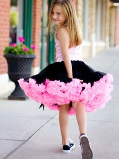 well, I'd love to wear the tutu, but converses and a mini skirt are my uniform.