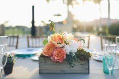 Coral aqua whimsical garden wedding: http://www.stylemepretty.com/2014/07/21/coral-aqua-whimsical-garden-wedding/ | Photography: http://daniellateulade.com/
