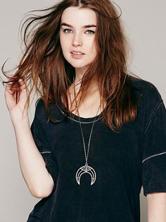 Ax + Apple Naja Necklace at Free People Clothing Boutique