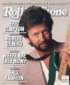 Most Rolling Stone Magazine Covers Music Magazines, Vintage Magazines, Cream Eric Clapton, Rolling Stone Magazine Cover, Magazine Cover Page, Tracy Chapman, Tears In Heaven, The Yardbirds, Blind Faith
