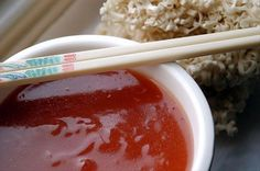 Sweet and Sour.   Use Less Cane sugar or less brown sugar and Chili sauce omitting worcestershire and ginger