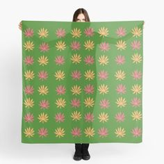 Green background leaf pattern Green Backgrounds, Autumn Leaves, Ceramics, Mugs, Shop, Pattern, Prints, Design, Art