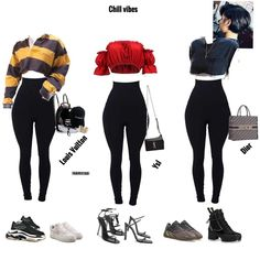 Some chill looks! Swag Outfits For Girls, Cute Swag Outfits, Teen Fashion Outfits, Teenager Outfits, Edgy Outfits, Retro Outfits, Girl Outfits, Festival Looks, Effortlessly Chic Outfits