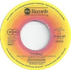 Keith Carradine - I'm Easy - 1976