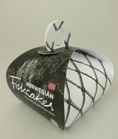 Norwegian 'Fiskcakes' Packaging