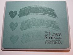 Stampin' Up 2014-2016 In Color: Lost Lagoon Stampin' Up Work of Art