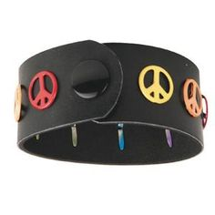 Peace Sign Wrister Craft Kit (makes 12)