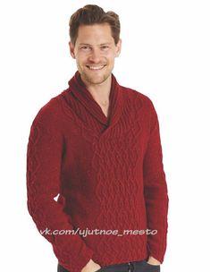 Мужской пуловер с шалевым воротником. Обсуждение на LiveInternet - Российский Сервис Онлайн-Дневников