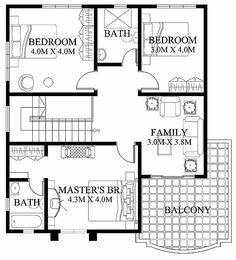 Modern house design floor plans philippines