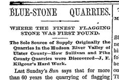 Sullivan and Pike County quarries, 1886 The Quarrymen, Stone Quarry, Hudson River, Sayings, Lyrics, Quotations, Qoutes, Proverbs