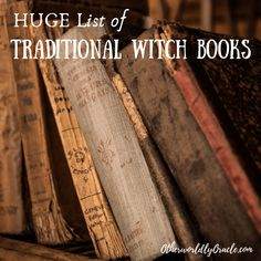 Next Post Previous Post HUGE List of Traditional Witch Books: Witchcraft, Folklore, and Herbalism RIESIGE Liste der traditionellen Hexenbücher: Hexerei,. Witchcraft Books, Green Witchcraft, Wiccan Spells, Magic Spells, Witchcraft History, Wiccan Books, Magick Book, Wiccan Witch, American Traditional