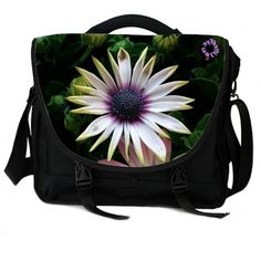 Stay Lifted and protect your valuables with the Dying Petals Laptop bag...