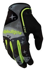 a 2017 troy lee designs xc guantes camuflaje gris mx motocross off road mtb dh enduro