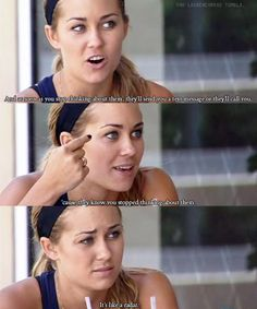 true that sister. lauren conrad knows what she's talking about. I love this show! Unrequited Love, Stop Thinking, Text You, Story Of My Life, What Is Like, Movie Quotes, Funny Quotes, Life Quotes, Text Messages