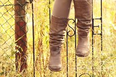 autumn boots gate leather