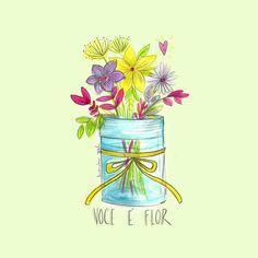 Cartaz Você é flor - Amanda Mol | Loja
