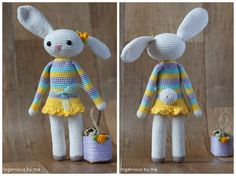 #haken, gratis patroon, Nederlands, Pasen, Paashaas, konijn, amigurumi, knuffel, speelgoed, #haakpatroon