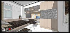 JENG 3D Space Design 環象‧空間造型設計: [室內設計]_住宅空間-郭公館-女孩房