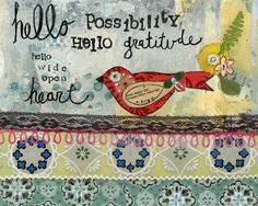 Hello Possibility - Kelly Rae Roberts
