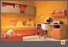 singola-sommier-arancione