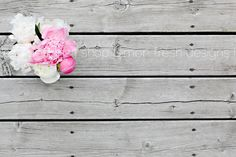Check out Peony Arrangement on Wood Image by SLFDesigns on Creative Market