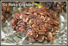 No Bake Cookies - 'Healthified' - Eat at Home