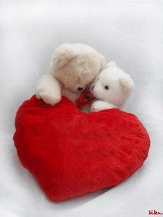 Gifs de Amor con corazones.