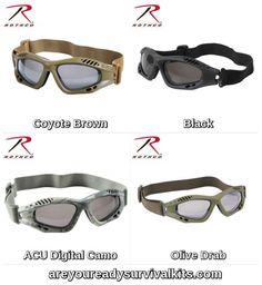 61dbd19c9b Rothco Ventec Tactical Goggles Rothco s Ventec Tactical Goggles feature a  lightweight foam padded frame.