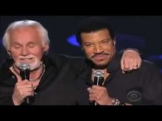KENNY ROGERS- LİONEL RİCHİE / LADY ( LİVE )