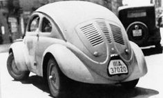 1937 VW Beetle, early prototype, 30 were made, all gone now. My first car was a bug.