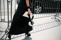 ¿De negro en verano? Sí, se puede © Josefina Andrés