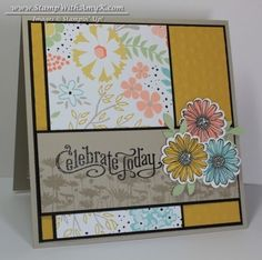 Perfectly Penned with Best of Flowers - Stampin' Up! - Stamp With Amy K