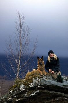 #German #shepherd friend