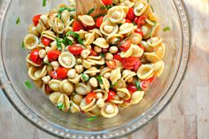 This picnic-perfect caprese pasta salad will fulfill all of your summer side dish dreams.