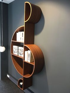 It seems that everyday new and exciting techniques come to light, enhancing furniture designs and enriching the lives of design lovers everywhere. Home Design Decor, Home Interior Design, Diy Home Decor, Interior Decorating, Room Decor, House Design, Wall Decor, Wall Shelves Design, Bookshelf Design