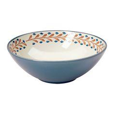 FINSTILT Coupe IKEA Une vaisselle unique avec des motifs, des détails et des reliefs qui évoquent la tradition et l'artisanat.