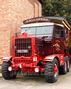 Vintage Carnival Truck 6x6